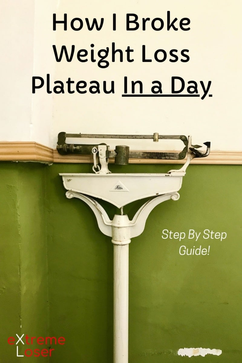 Plateau: How I Broke It Every Time Quickly While Losing Weight