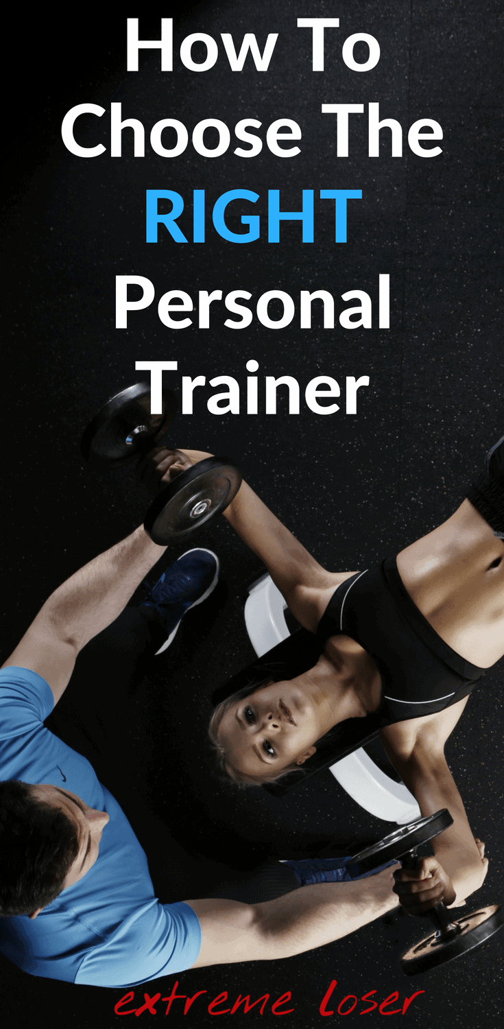 right personal trainer