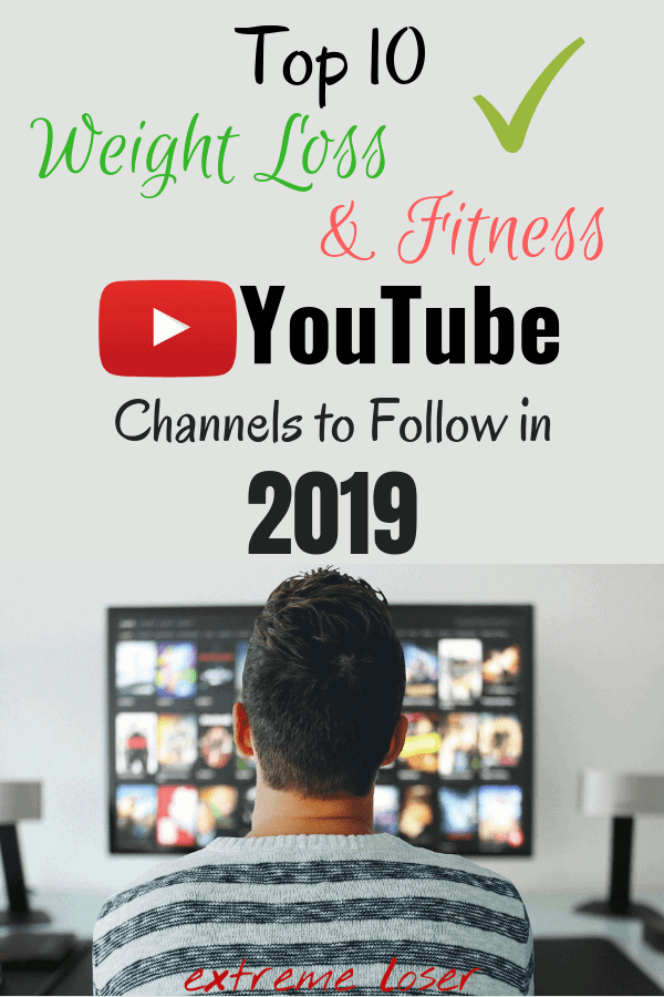 Education is the key when it comes to weight loss, and knowledge is often the best way for healthy weightloss journey. People LOVE to watch YouTube influencers talk about a certain subject, and fitness industry is expanding. Here are top 10 weight loss and fitness YouTube channels to follow in 2019. #extremeloser